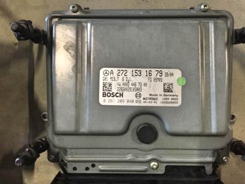 Блок управления двигателем ЭБУ MB A2721531679