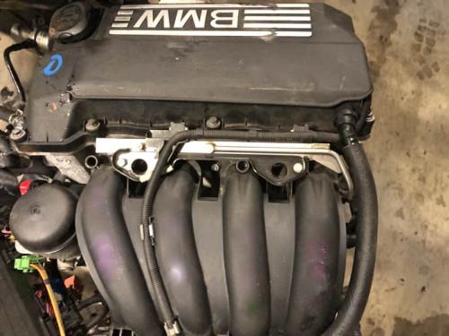 Двигатель ДВС BMW N45B16A 120i,320i,E81,E87,E90