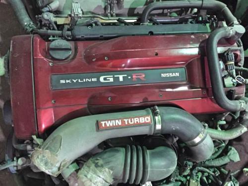 Двигатель Nissan RB26DETT Skyline GT-R R34,Stagea