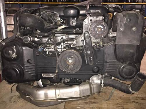 Двигатель Subaru EJ20Y Forester,Legacy,Impreza
