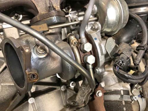 Турбокомпрессор Borg Warner CJ5G-6K682-DA Volvo S60,Ford Focus,Kuga
